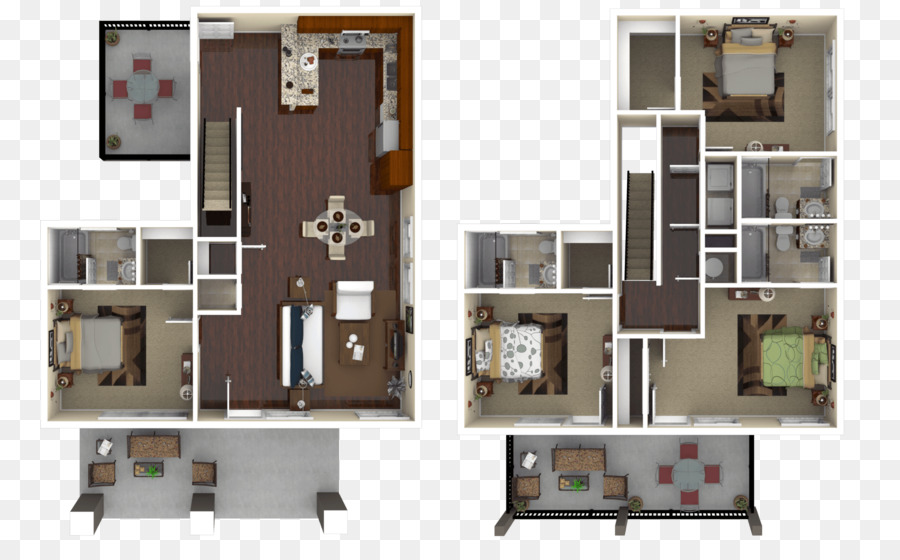 Floor Plan Pennsylvania State University The Retreat At College House Apartment