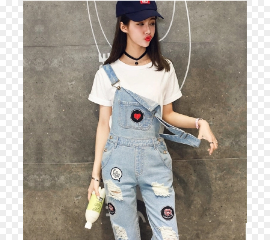 ab690f4f2a7 Jeans Denim Overall Pants Jumpsuit - overalls png download - 4500 4000 -  Free Transparent Jeans png Download.