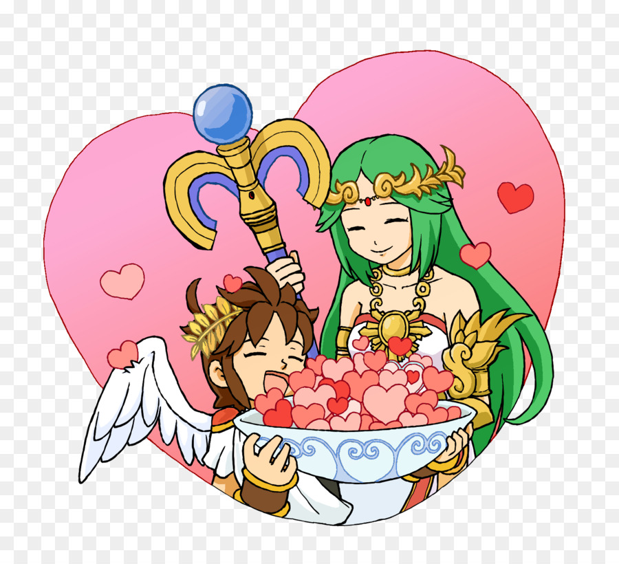 Kid Icarus Uprising Super Smash Bros For Nintendo 3DS And Wii U Pit Palutena