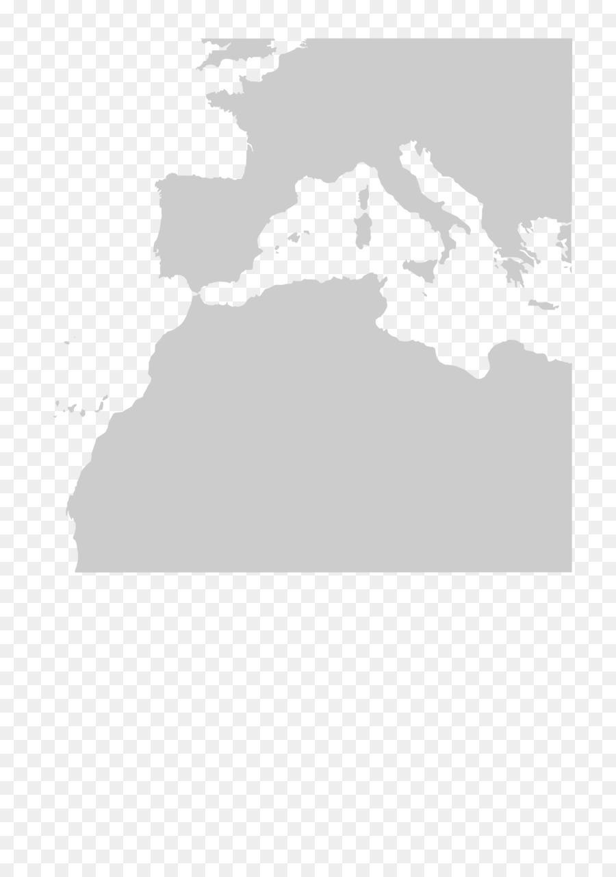 Europe Second World War Blank map North Africa - africa map png ...