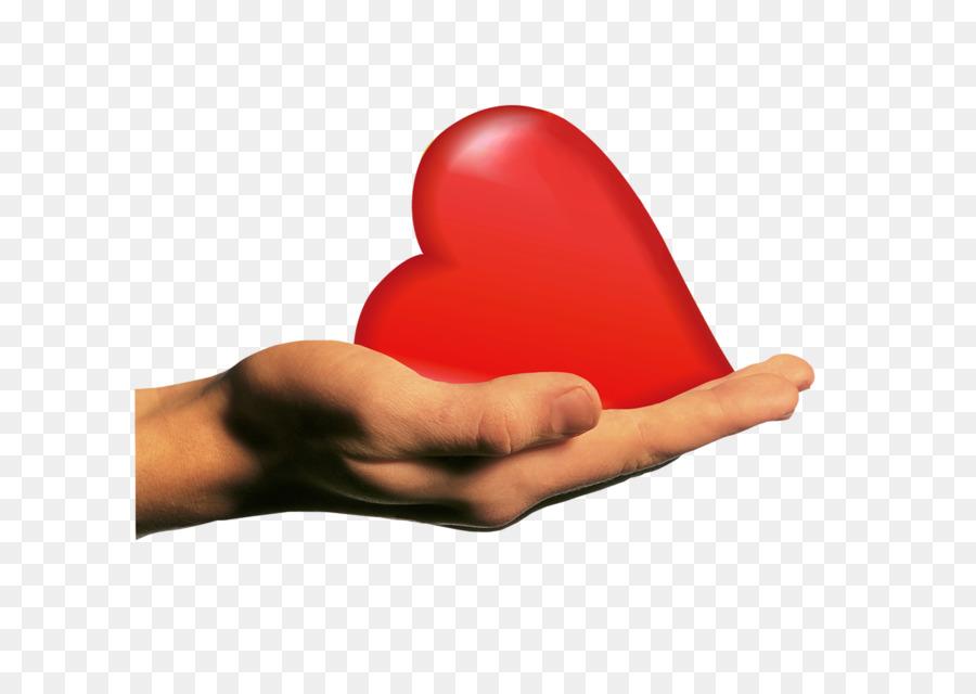 Heart Hand Desktop Wallpaper Human body Finger - heart png download ...