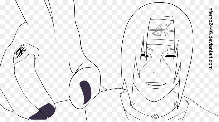 Itachi Uchiha Sasuke Uchiha Línea de arte de Naruto Croquis - naruto ...
