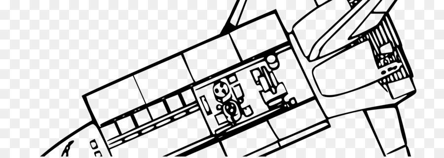 Space Shuttle Spacecraft Clip Art