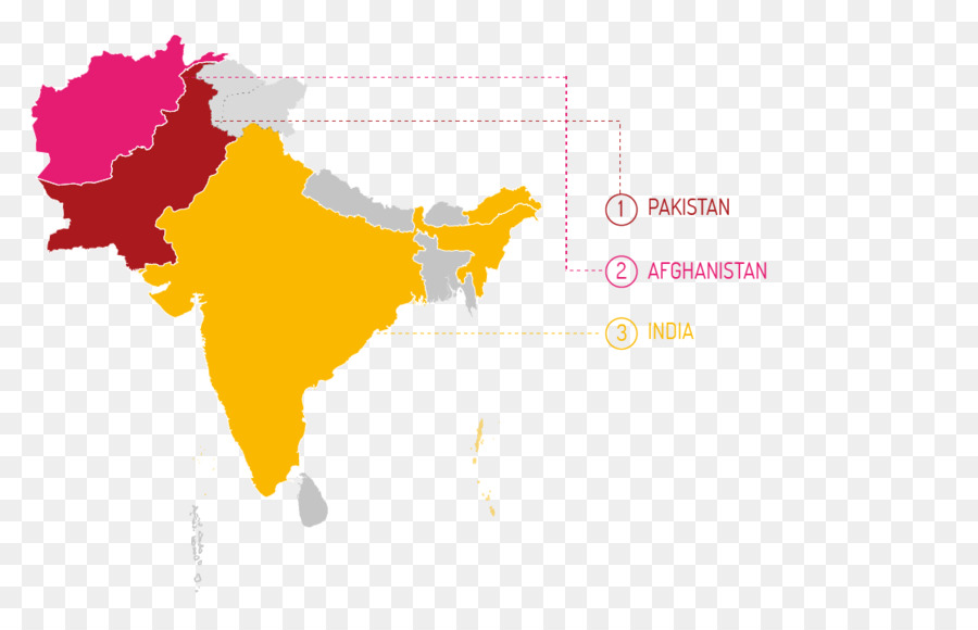South Asia Vector Map City Map   Map