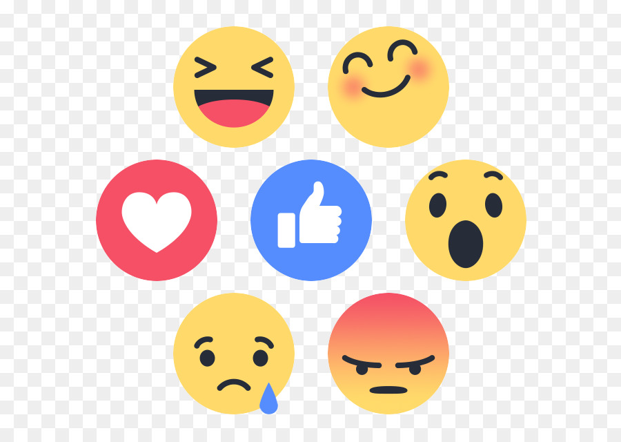 Emoticon Like Button Facebook Smiley Emoji Facebook Png Download