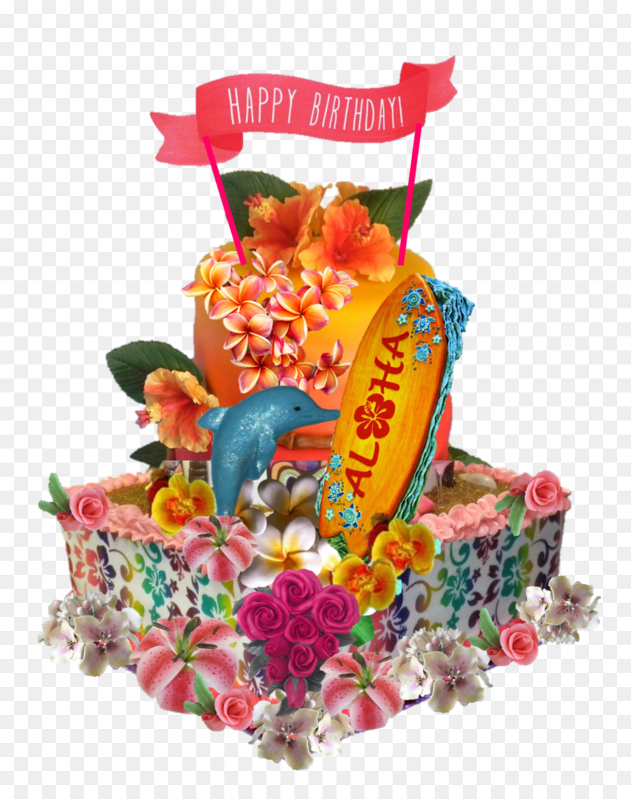 Birthday Cake Torte Decorating Food Gift Baskets