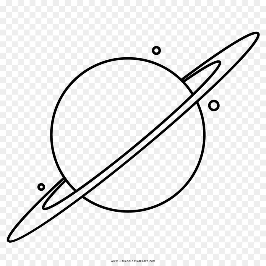 Saturno Dibujo para Colorear libro Planeta del Sistema Solar ...