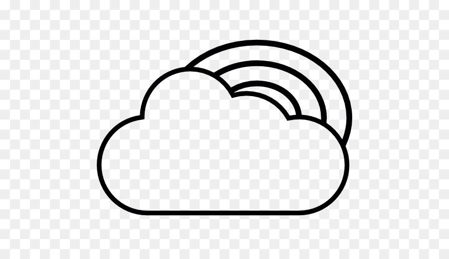 Boyama Kitabı çizim Bulut Gökkuşağı Gökyüzü Bulut Png Indir 512