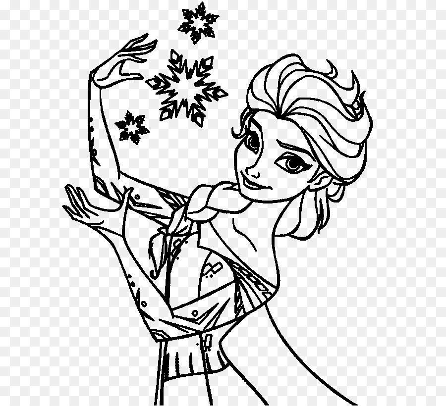 Elsa Anna, Hans Olaf libro para Colorear - elsa png dibujo ...