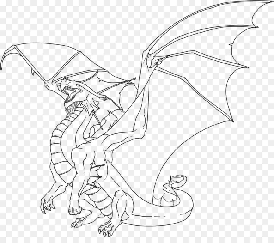 Libro para colorear de Niño Dragón Adulto Fantasía - dragón png ...