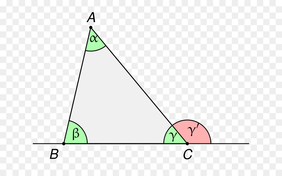 Triangle Euclidu0027s Elements Exterior Angle Theorem Internal Angle   Triangle