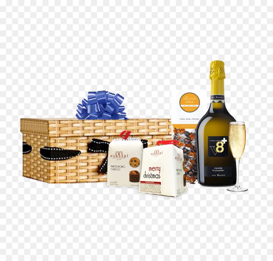Liqueur Food Gift Baskets Sparkling wine Champagne - wine png download - 850*850 - Free Transparent Liqueur png Download.