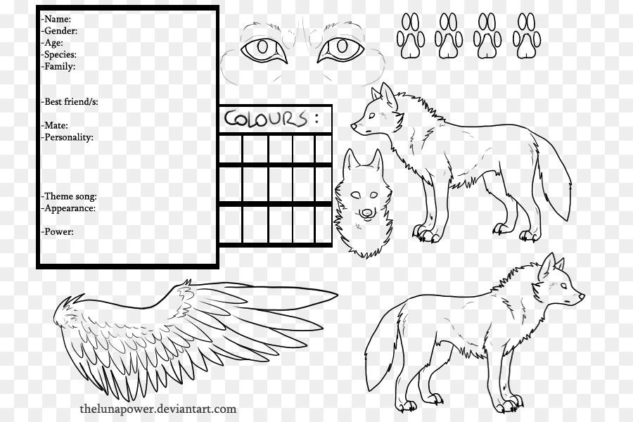 Perro de arte de Línea de Dibujo de Croquis - Perro png dibujo ...