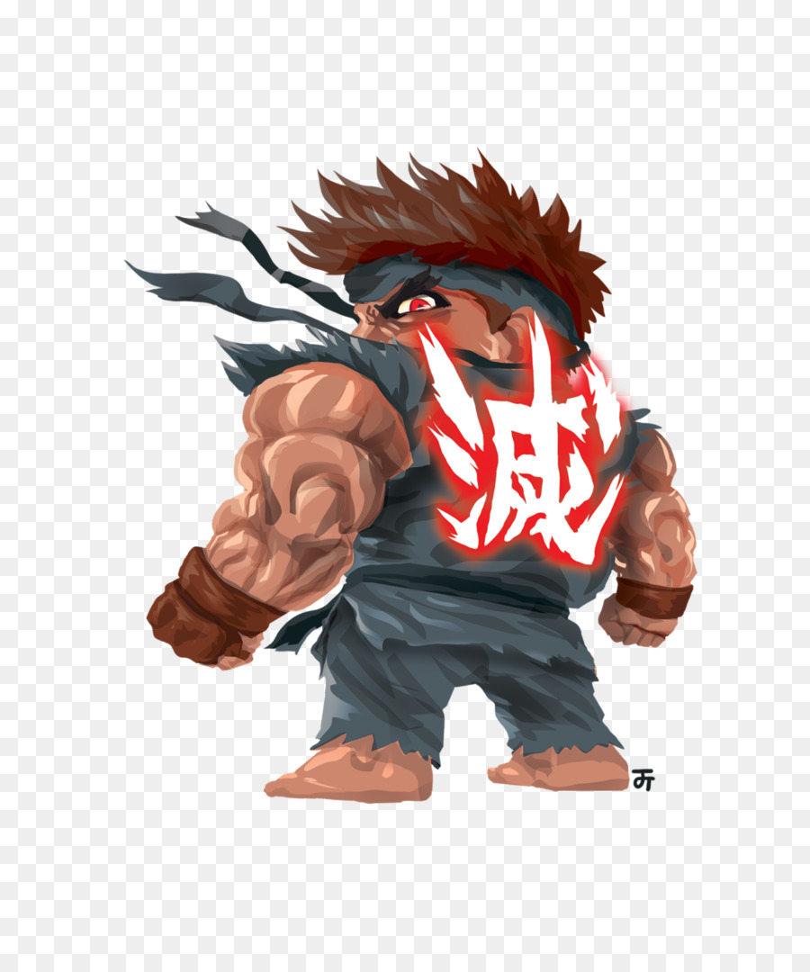 Street Fighter V Ryu Akuma Ken Masters Drawing Others Png Download