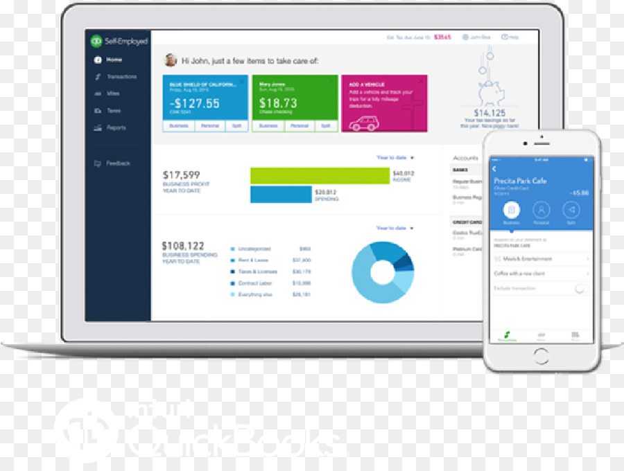 Quickbooks Computer Monitor png download - 922*685 - Free