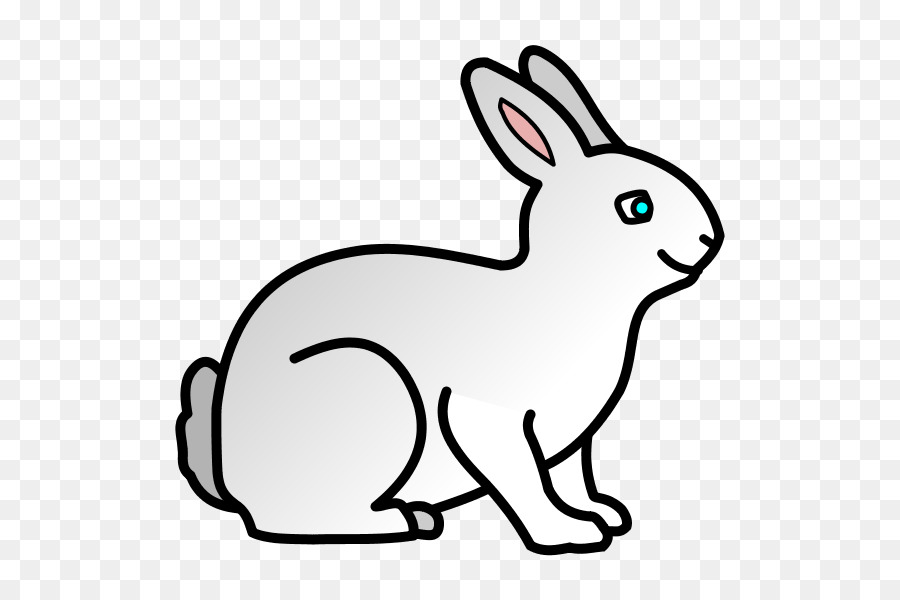 Domestic rabbit Coloring book Easter Bunny Drawing - rabbit png ...