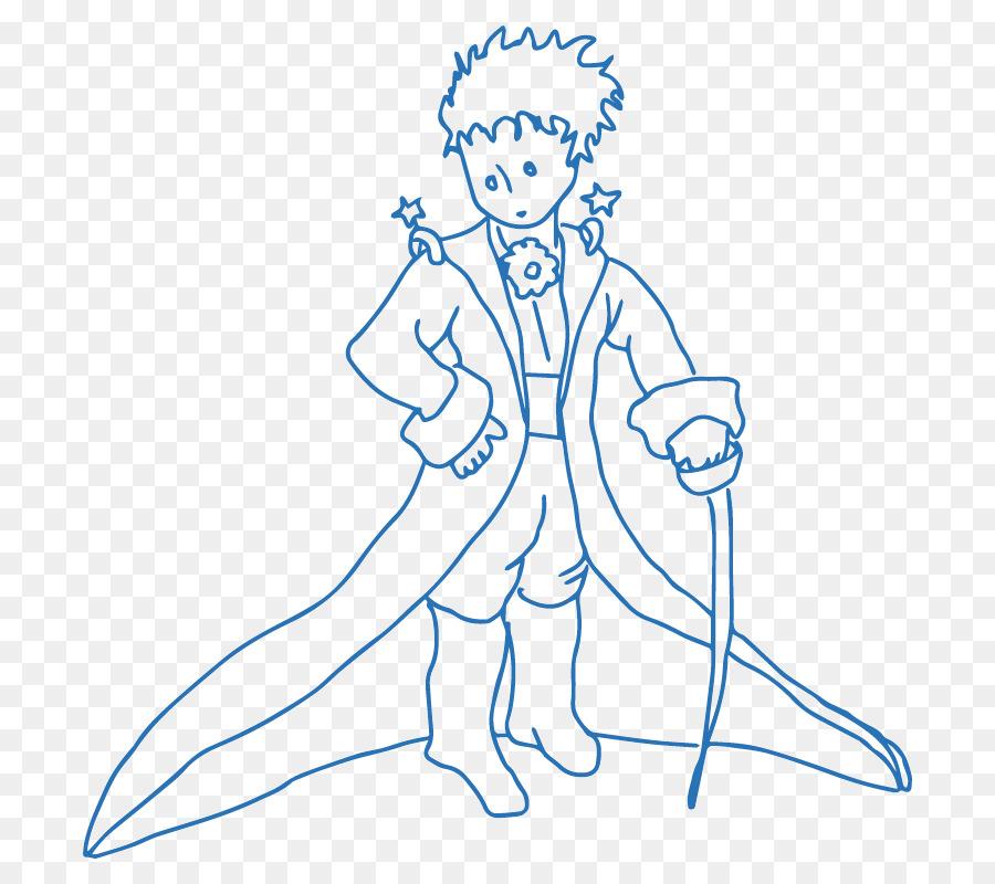 El Pequeño Príncipe el Príncipe Encantador Dibujo para Colorear ...