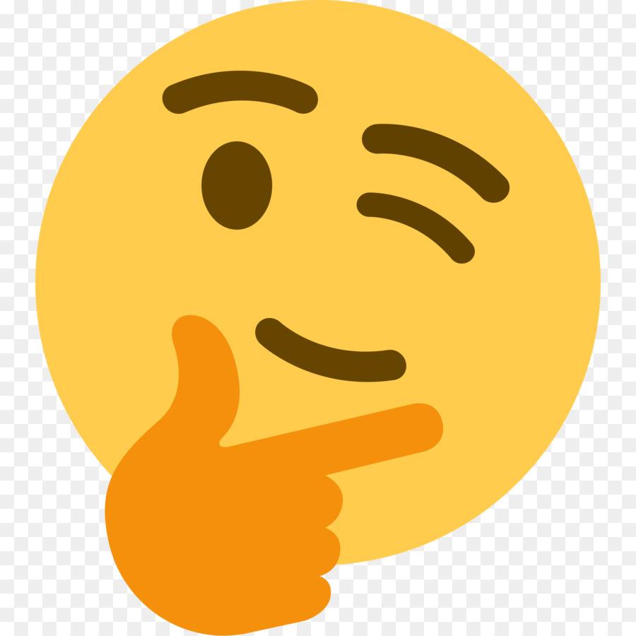 Discord Thinking Emoji png download - 5000*5000 - Free