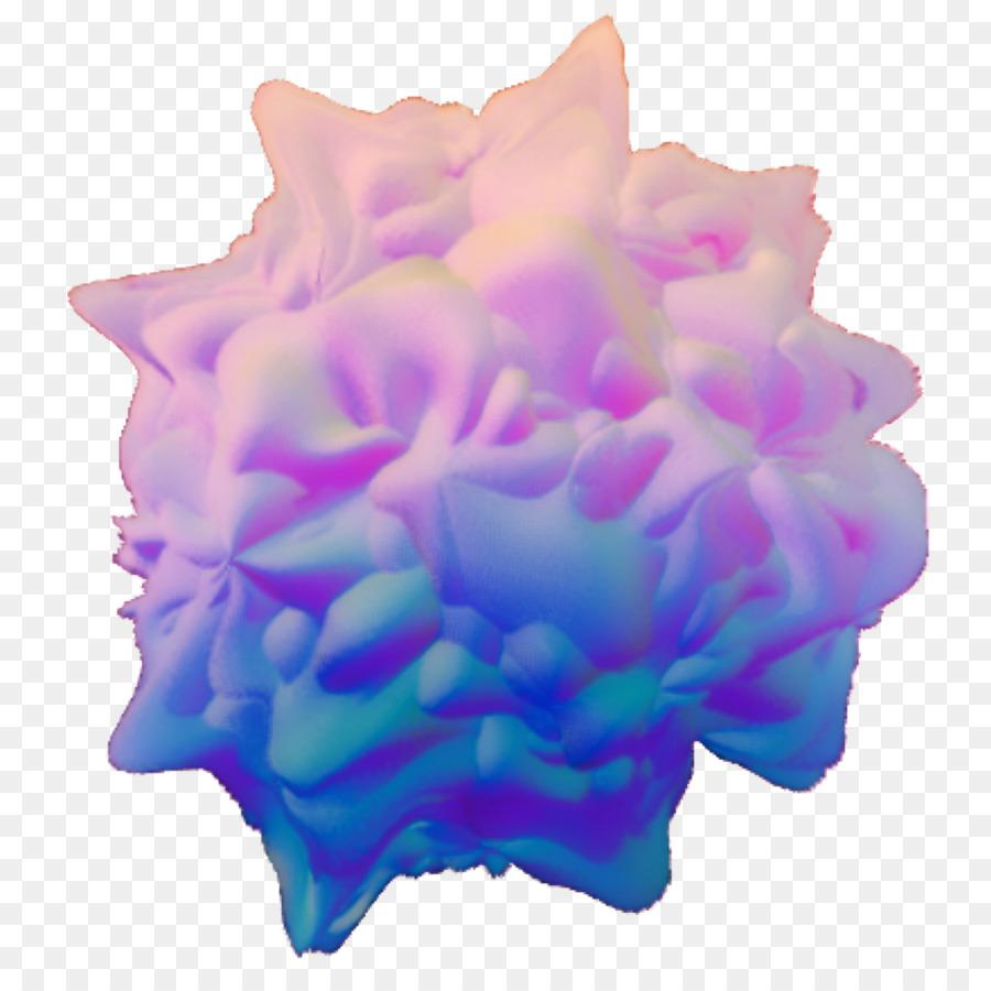 Vaporwave flower. Flowers clipart background png