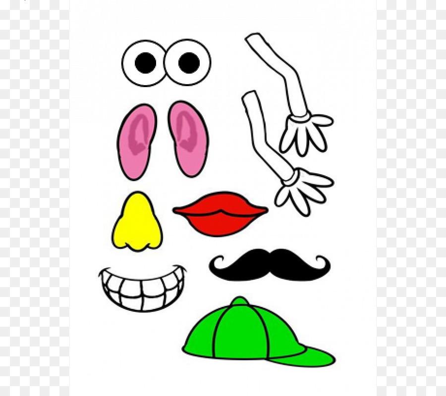 mr potato head sense clip art potato png download 800 800 rh kisspng com  5 senses images clipart
