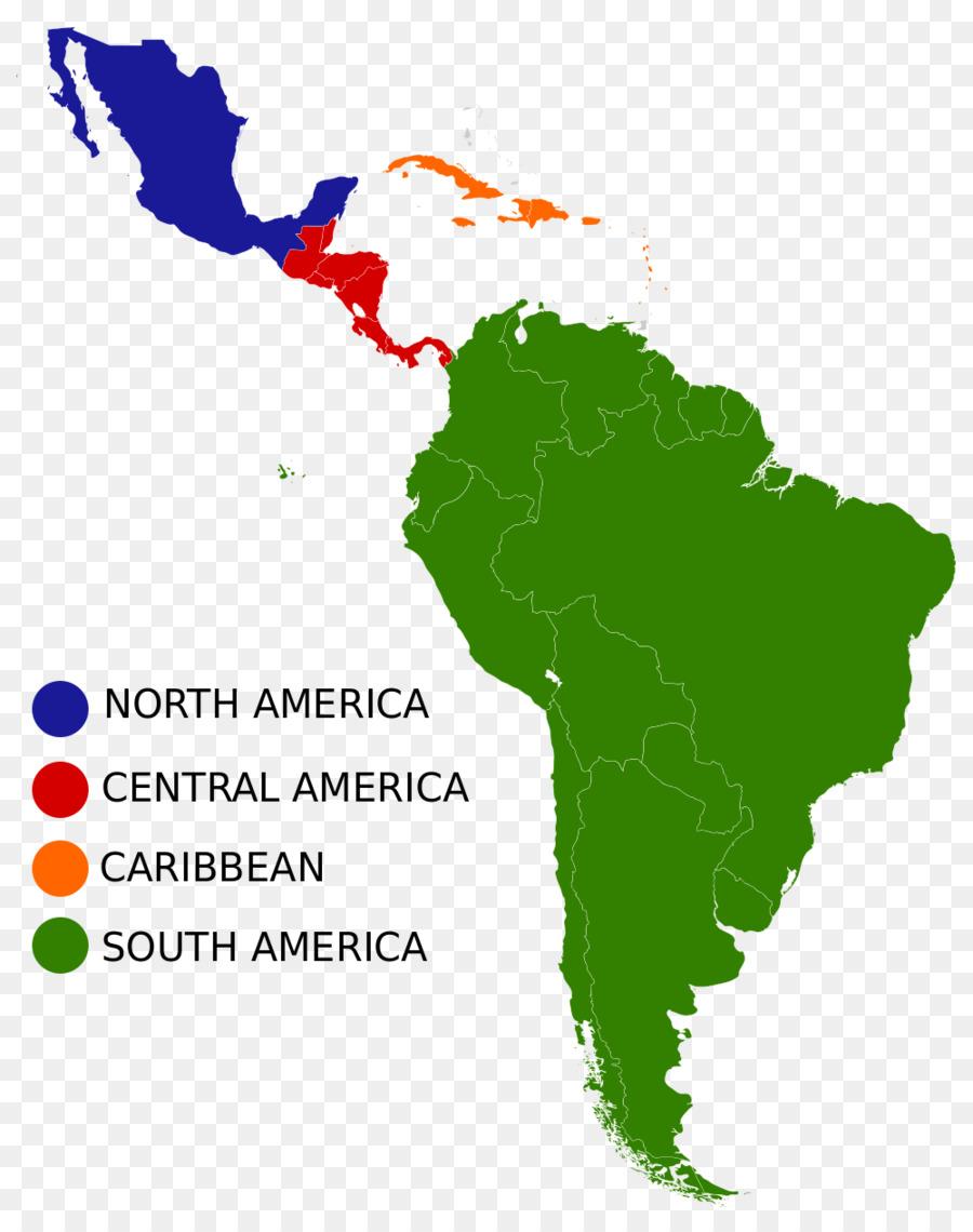 Brazil The Guianas Isthmus of Panama Caribbean South America ...