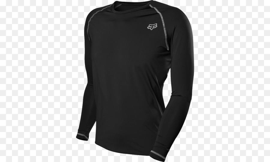 T-shirt Layered clothing Fox Racing Sleeve - T-shirt png download ... 3a62613f0