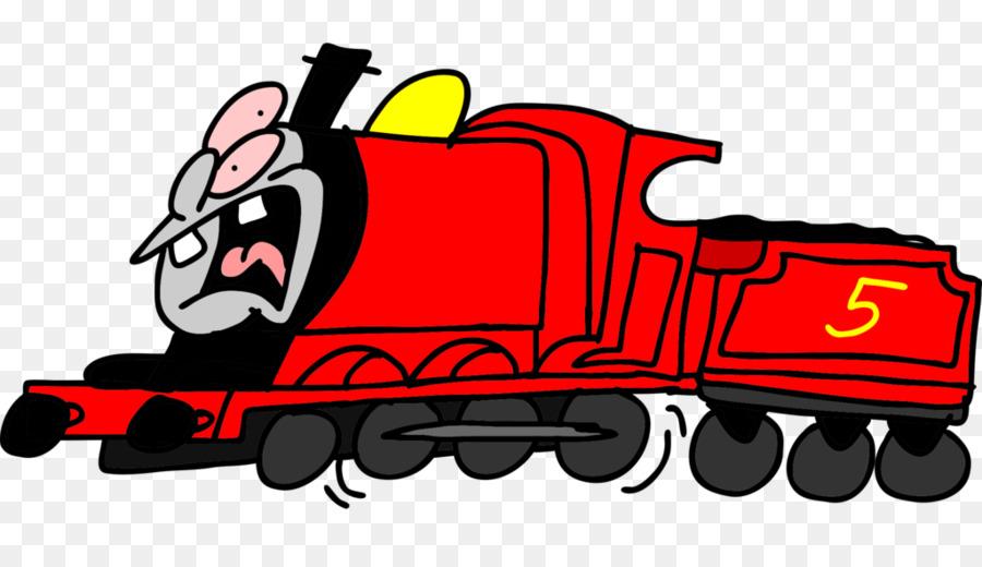 James The Red Engine Thomas Train Steam Locomotive