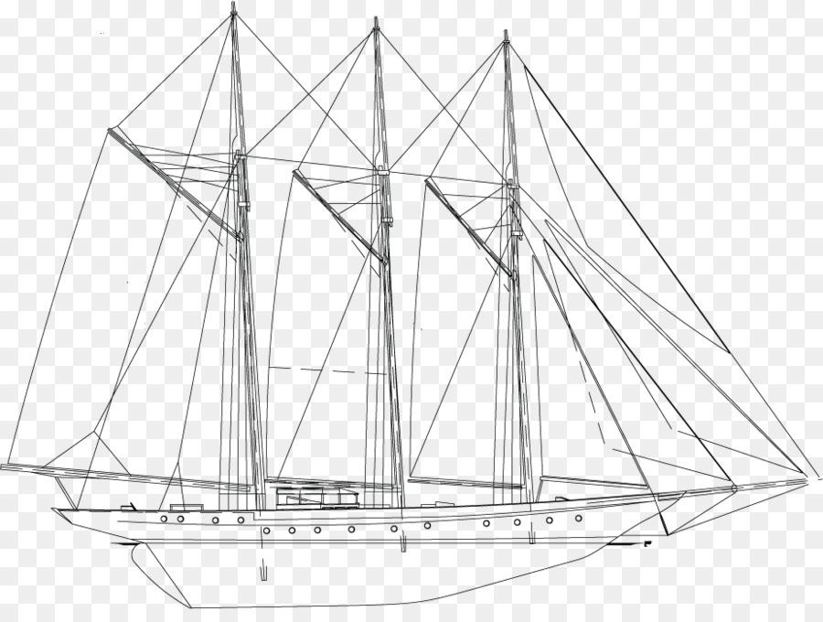 Sail Schooner Mast Rigging Yacht