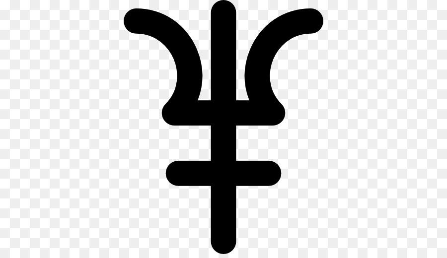 Neptune Astrological Symbols Planet Symbol Png Download 512512
