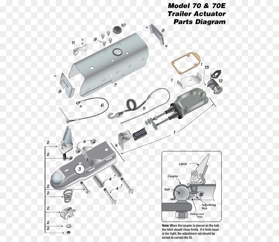 Trailer Brake Controller Overrun Brake Hydraulic Brake Boat Trailers
