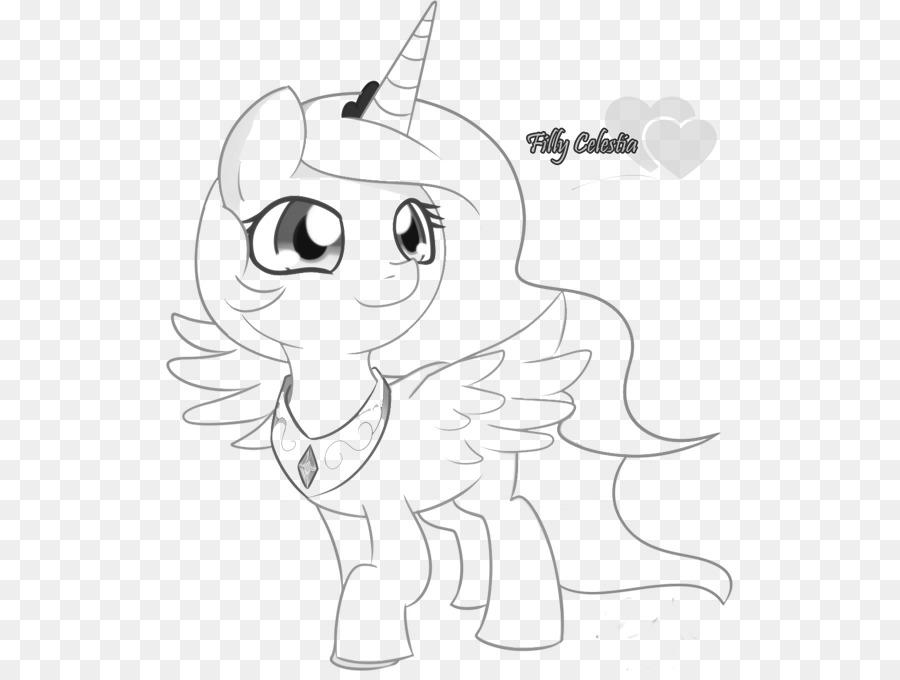La Princesa Celestia Pony Rainbow Dash Princesa Luna Twilight ...