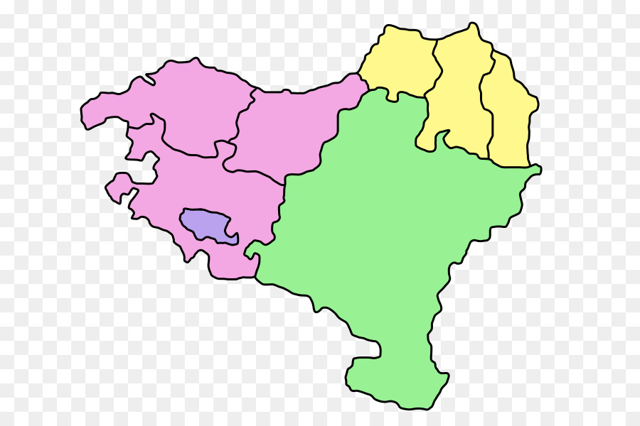 Basque Country Navarre Map Valle De Villaverde Basques Map Png