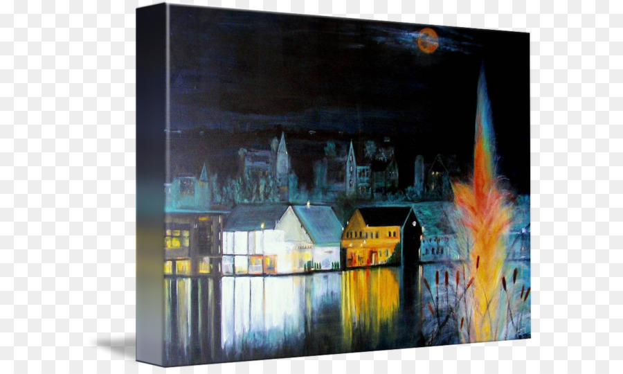 bromont painting brome lake picture frames canvas print painting