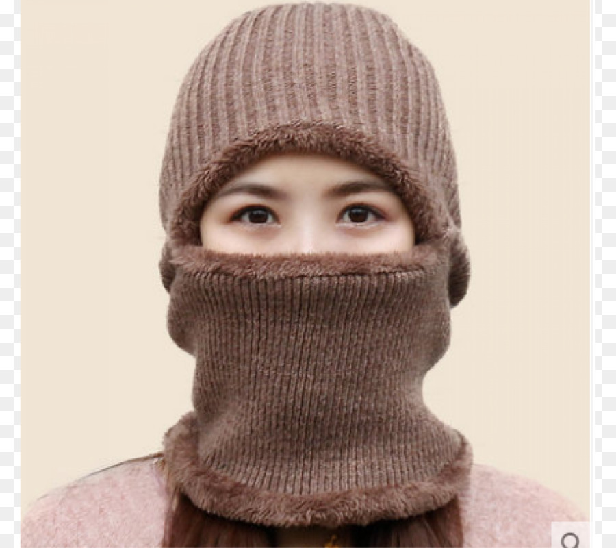 Gorro de Tricô de Malha cap. - chapéu de lã - Transparente De Lã ... 0cb9f33260e