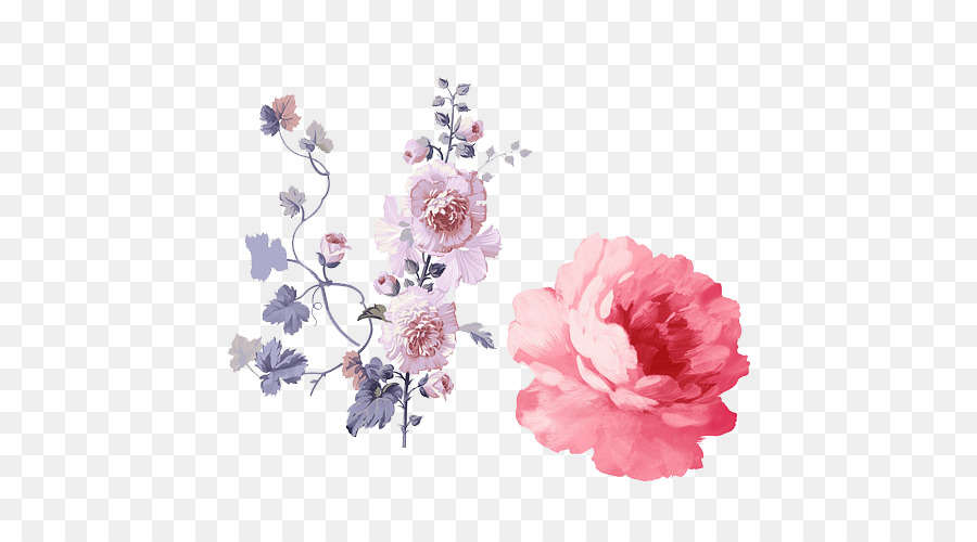 Wedding Watercolor Flowers png download - 500*500 - Free