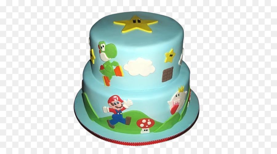 Birthday Cake Torte Super Mario Bros Cake Decorating Mario Bros