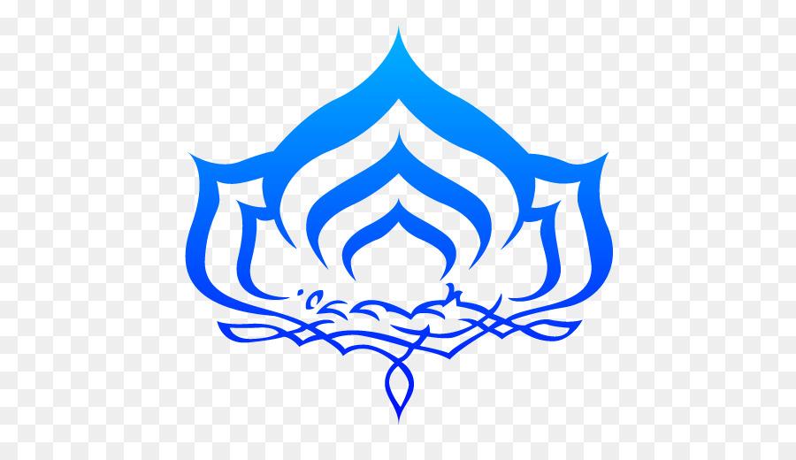 Warframe Logo Symbol Graphic Design Lotus Buddhas Words Png