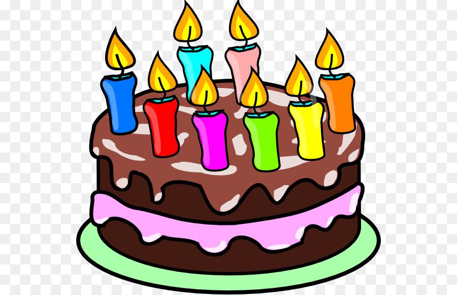 Birthday Cake Torte Clip Art Cake Png Download 600 579 Free