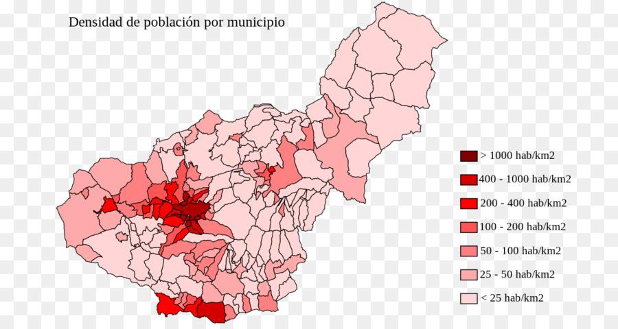Granada Karte.Granada Karte Bevölkerungsdichte Anzeigen Png Herunterladen 1280