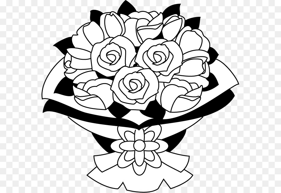 Flower bouquet clip art flower png download 633619 free flower bouquet clip art flower mightylinksfo