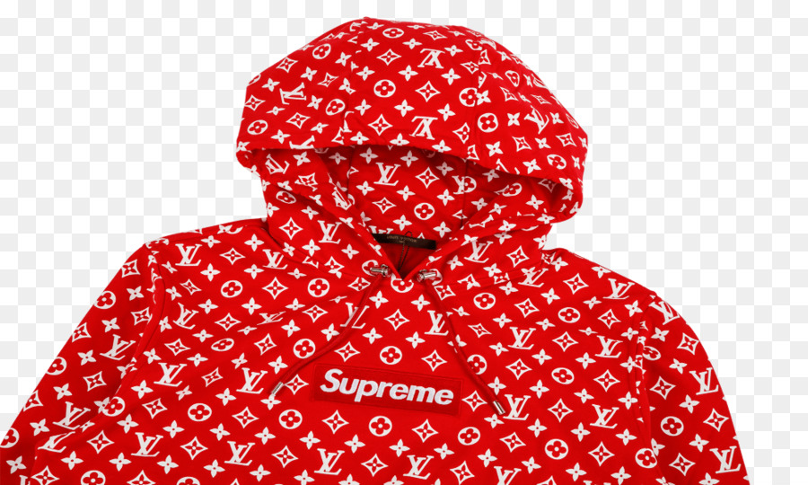 24e7f640703f Hoodie LOUIS VUITTON x SUPREME POP-UP STORE T-shirt - T-shirt png download  - 1000 600 - Free Transparent Hoodie png Download.