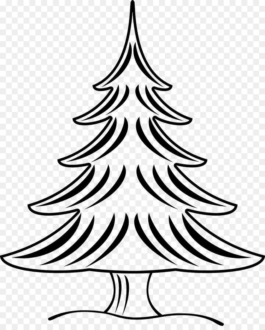 Christmas tree Black and white Clip art - biopharmaceutical color ...