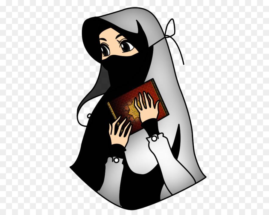 Muslim Purdah Animasi Anak Lain Unduh Perilaku Manusia Png