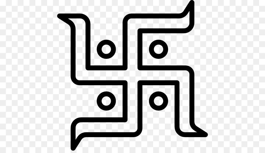 Swastika Computer Icons Symbol Hinduism Symbol Png Download 512