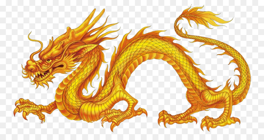 China Chinese dragon Nine-Dragon Wall Japanese dragon - China png ...