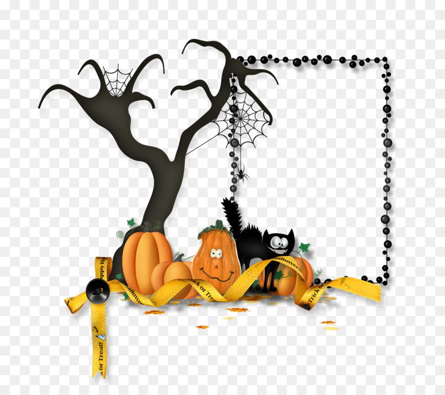 Halloween Picture Frames Graphic Design Cornice Brochure Halloween