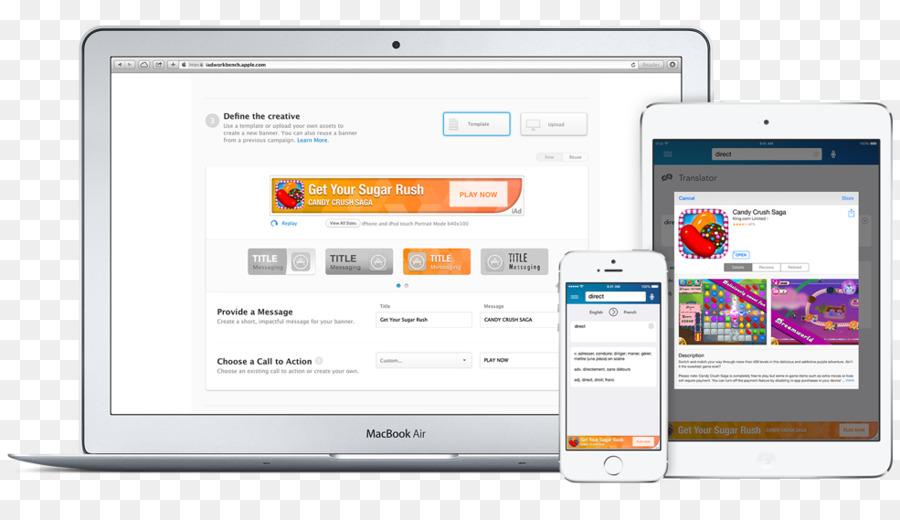 Computer program iAd Apple iTunes Advertising - apple png download