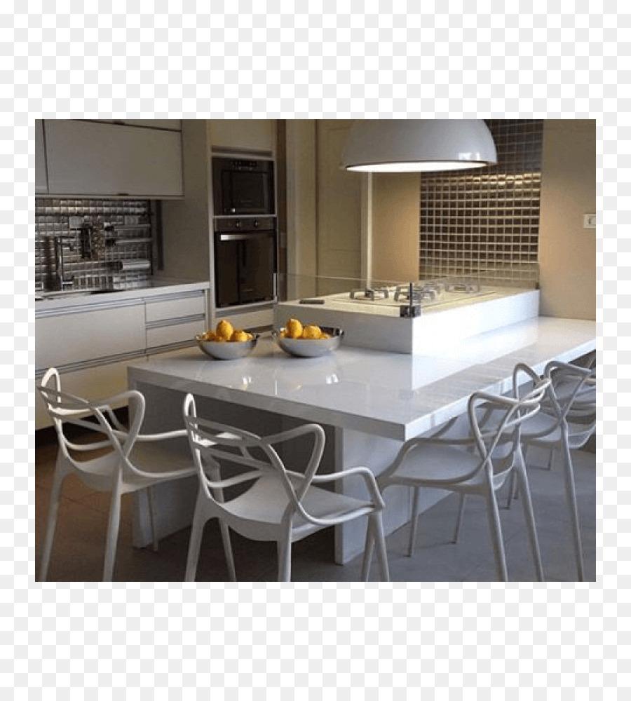 Tisch-Küchen-Stuhl-Interieur-Design-Dienstleistungen Kartell - store ...