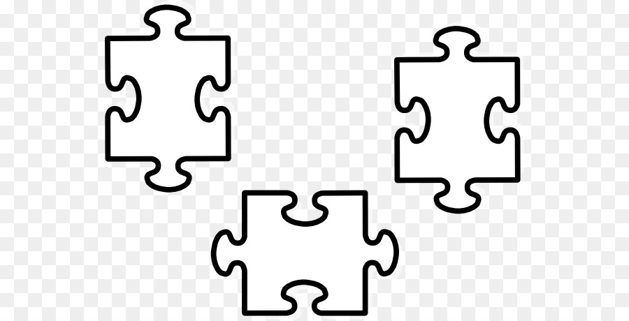 Jigsaw Puzzles Coloring Book Clip Art Others