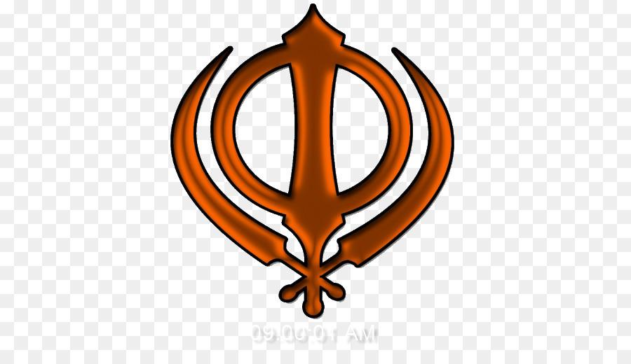 Khanda Sikhism Ik Onkar Symbol Khanda Png Download 512512
